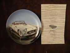 Dream Machines Collectors Plate 1956 T-Bird By Delphi