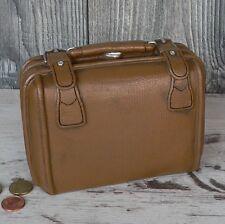 Spardose alter Koffer braun Leder Urlaubskasse Sparschwein Reisekasse Urlaub