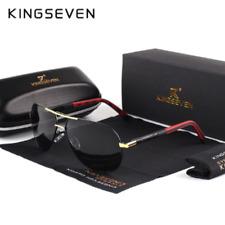 KINGSEVEN K725 Men Vintage Aluminum Polarized Sun glasses Classic Brand