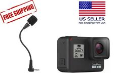 External Microphone for GoPro Hero 7 Black - Pro Sports Equipment Flex Mic