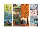 Sam Toft Which is Your Favourite Season? Art Print 24 x 31.5 Inches Official