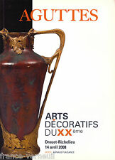 CATALOGUE DE VENTE ART DECO ART NOUVEAU DESIGN ceramique Mobilier Paul Follot