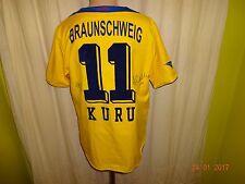 "Eintracht Braunschweig Jako Heim Trikot 2004/05 ""BS/ENERGY"" + Nr.11 Kuru Gr.M/L"