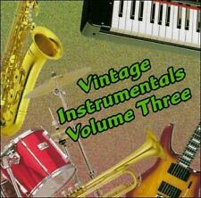 Vintage Instrumentals, Vol. 3 by Various Artists (CD, Mar-1996, Stardust...