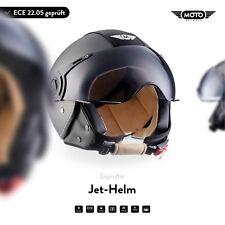 Casque Demi-Jet Vespa Scooter Quad Retro - MOTO Helmets H44 Vint. T. XS S M L XL