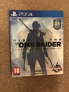PS4 RISE OF THE TOMB RAIDER - LARA CROFT GAME 20 Year celebration