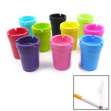 Mini Portable Ashtray Cigarette Cup Car Butt Bucket Smoke Ash Holder Candy Color