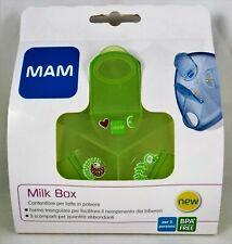 MAM LAIT boîte de rangement doseur x le en poudre 3 compartiments 40g vert