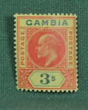 GAMBIA STAMP 1902 3/-  SG 56 H/M  (C102)