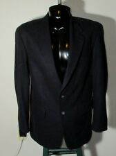Men's JOHN ASHFORD Blue Wool Blend Blazer Suit Jacket Size 42L NWOT