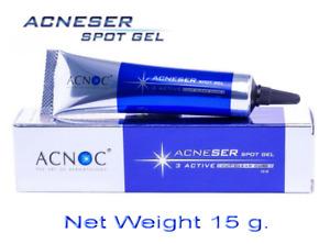 15G Acnoc Acneser Spot Gel Fade Away Acne Scar Rash Blemishes Acne Black Spots