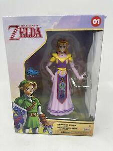 Princess Zelda with Ocarina Action Figure 2021 Jakks Pacific Legend of Zelda NEW