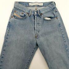 Diesel BASIC Mens Jeans W28 L34 Blue Slim High Rise Button Fly 100% Cotton