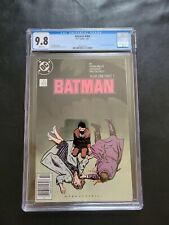 Batman #404 CGC 9.8 newsstand