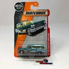 '63 Cadillac Ambulance #88 * Matchbox * G27