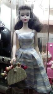 Vintage Raven Hair Number #3 Ponytail Barbie Doll
