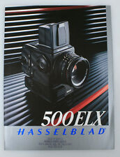 HASSELBLAD 500ELX GUIDE