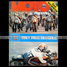 MOTO JOURNAL N°136 NORTON 850 COMMANDO BMW R90 S MICHEL ROUGERIE KREIDLER 1973