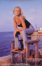 Mindy McCready 1997 Don't Stay The Night Original Promo Poster