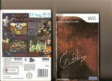 HOUSE OF THE DEAD 2 AND 3 RETURN NINTENDO WII ZOMBIE SHOOTER