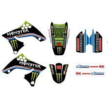 KIT GRAFICHE ADESIVI MONSTER KAWASAKI KX 125 250 KXF 250 450 GB