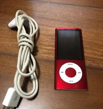 Apple iPod Nano 5th Generation Red 16GB - Great Condition - 596 Songs