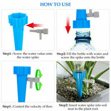 Simple Garden Plant Automatic Self Watering Spikes Stakes Valve Waterer Device