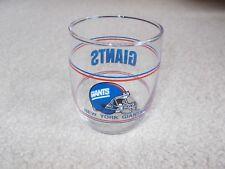 NEW YORK GIANTS BARREL GLASS