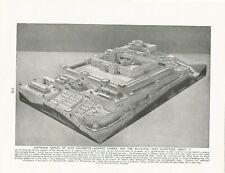 B) aspetto MERIDIONALE KING SOLOMON Temple Israel HIRAM C 1923 ILLUSTRAZIONE stampa