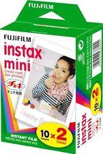 Fujifilm Instax Mini Film Twin Pack 20 Prints for Fuji 8 50s 25 7s 90 300 Mini8