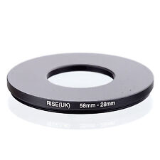 Camera 58mm Lens to 28mm Accessory Step Down Adapter Ring 58mm-28mm