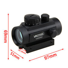 Tactical Holographic Red Green Dot  4 Reticle Projected Reflex Sight Scope Mount