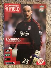Liverpool v Wigan Athletic - Barclays Premier League 2008/09 Programme