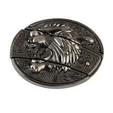 3D Tiger Head Belt Buckle Personalized Classic Retro Useful Gadgets