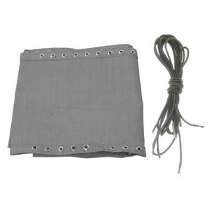 Replacement Fabric Cloth & Lace for Zero Gravity Chair Couch Grey