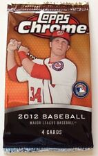 2012 Topps Chrome Pack (Bryce Harper Rookie RC Gold Sepia Refractor Auto 1of1)?