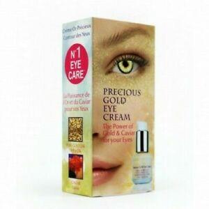 Christian Breton Precious Gold Eye Cream Caviar & Pure 24k Gold 15ml RRP £67.00