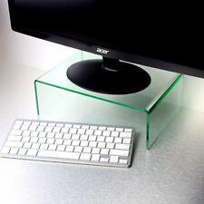 Efecto de vidrio base para monitor de computadora de escritorio Laptop Pantalla de pantalla de TV tarjeta Vertical Estante