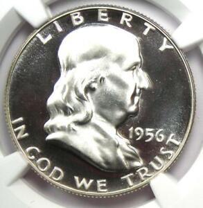 1956 PROOF Franklin Half Dollar 50C - NGC PR69 Ultra Cameo (PF69) - $3500 Value!