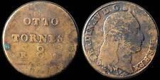 pci896) Napoli Tornesi 8  Ferdinanado IV 1797