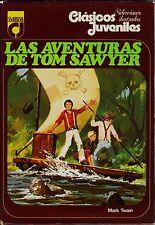 clásicos juveniles nº 4: AVENTURAS TOM SAWYER (colección completa 7 nº TOPELA)