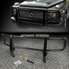 FOR 99-12 MERCEDES G500 G-CLASS BLACK COATED MILD STEEL FRONT GRILL GUARD FRAME