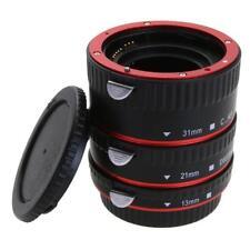 Makro Zwischenringe für Canon Kamera EOS EF/ EF-S Objektiv Adapter Macro Ringe