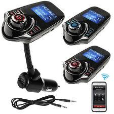 T10 Bluetooth Handsfree FM Transmitter Car Kit MP3 Music Player USB SD Modulator
