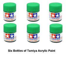 Tamiya 815128 Acrylic Mini X28 Park Green 10 ml Bottle Acrylic Modelling Paint
