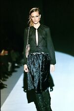 VINTAGE COLLECTOR ** GUCCI by TOM FORD ** 1999 RUNWAY VELVET SKIRT (44)