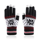 Can touch mobile screen winter gloves,G1682-black 1pcs