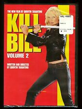 Kill Bill Vol. 2 Movie Dvd Quentin Taranttino Sealed New