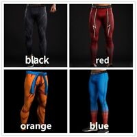 Spiderman 3d Printed Pattern Compression Tights Pants Men Sweatpants Captain Ame