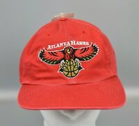 Atlanta Hawks NBA Vintage 90's Twins Enterprise Adjustable Strapback Cap Hat